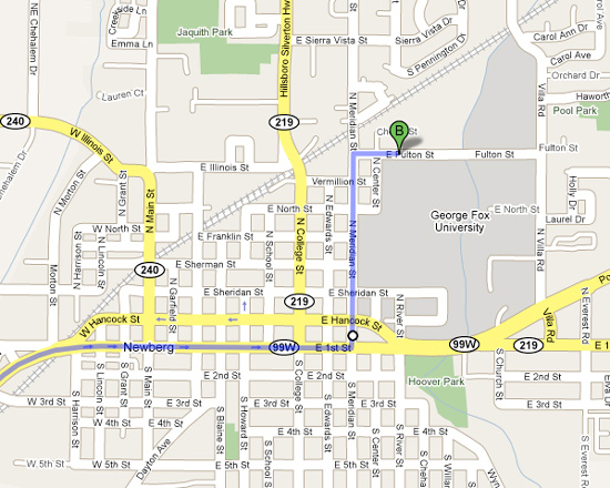 Physician Assistant Programs In Pa >> Directions to Bauman Auditorium & Stoffer Family Stadium | George Fox University