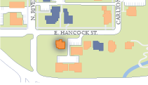 Hancock Street House location
