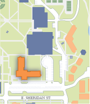 Pennington Hall location