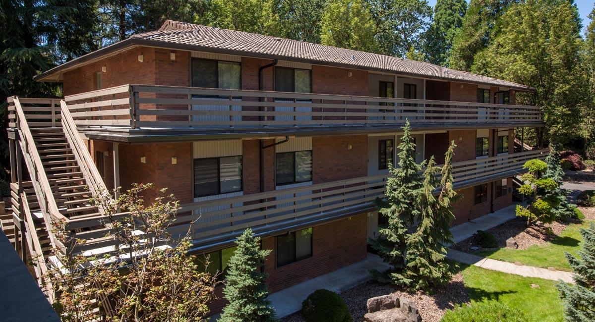 Beebe Suites University Housing George Fox University