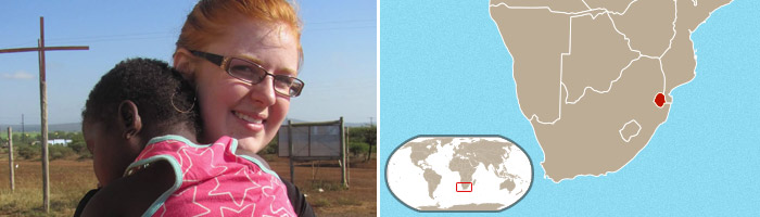 Sarah Cadd - George Fox Summer Serve, Swaziland