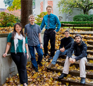 George Fox University Innovation Fellows team