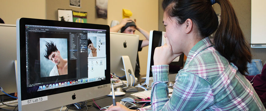 Art & Design majors study at George Fox, a top Christian college