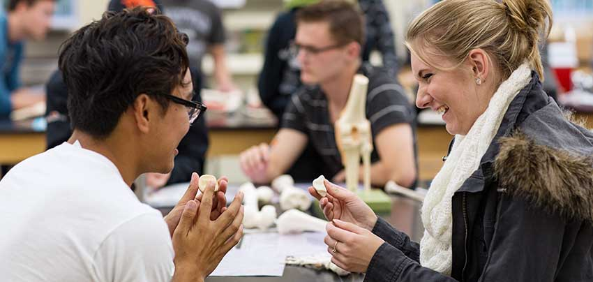 Health-Teaching majors at George Fox study at one the West Coast's top Christian colleges.