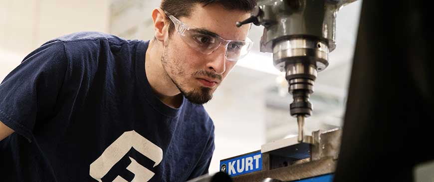 Engineering majors with Mechanical Engineering Concentration study at George Fox, a top Christian college