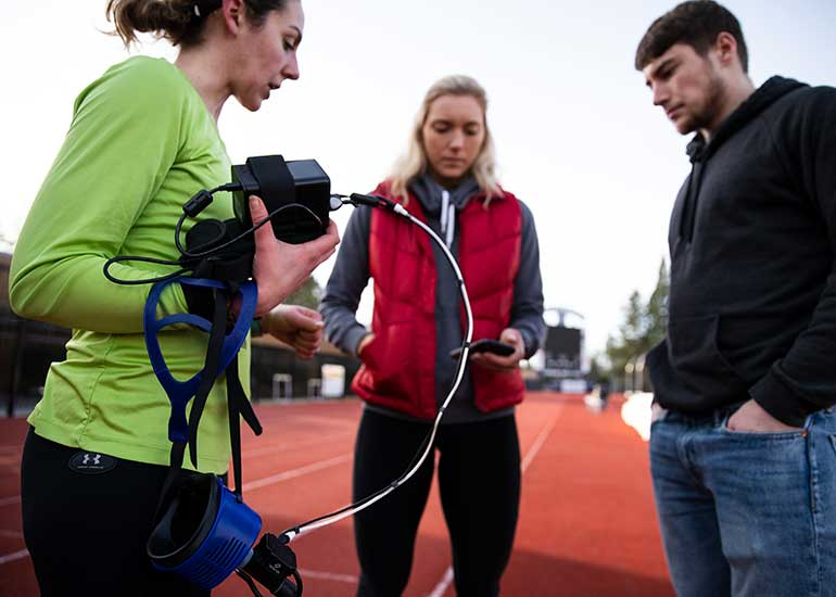 George Fox's health and human performance major prepares students for a number of careers in the field.