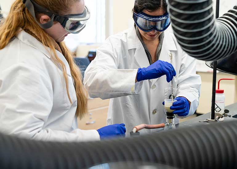 Chemistry majors at George Fox study at one of the West Coast's top Christian colleges.