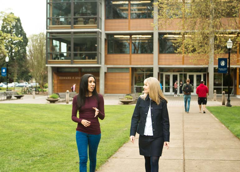 Economics majors at George Fox integrate the Christian faith with their studies.
