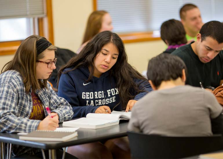 As a politcal science major at George Fox, you will get individual attention in an encouraging Christian college environment.