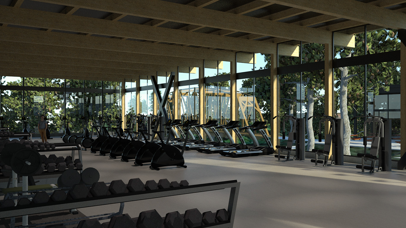 Student Activity Center Gym