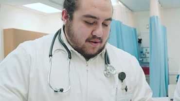 Nursing Major Focus: Eduardo Fuentes