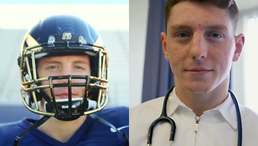 Student-Athlete Profile: Football and Nursing