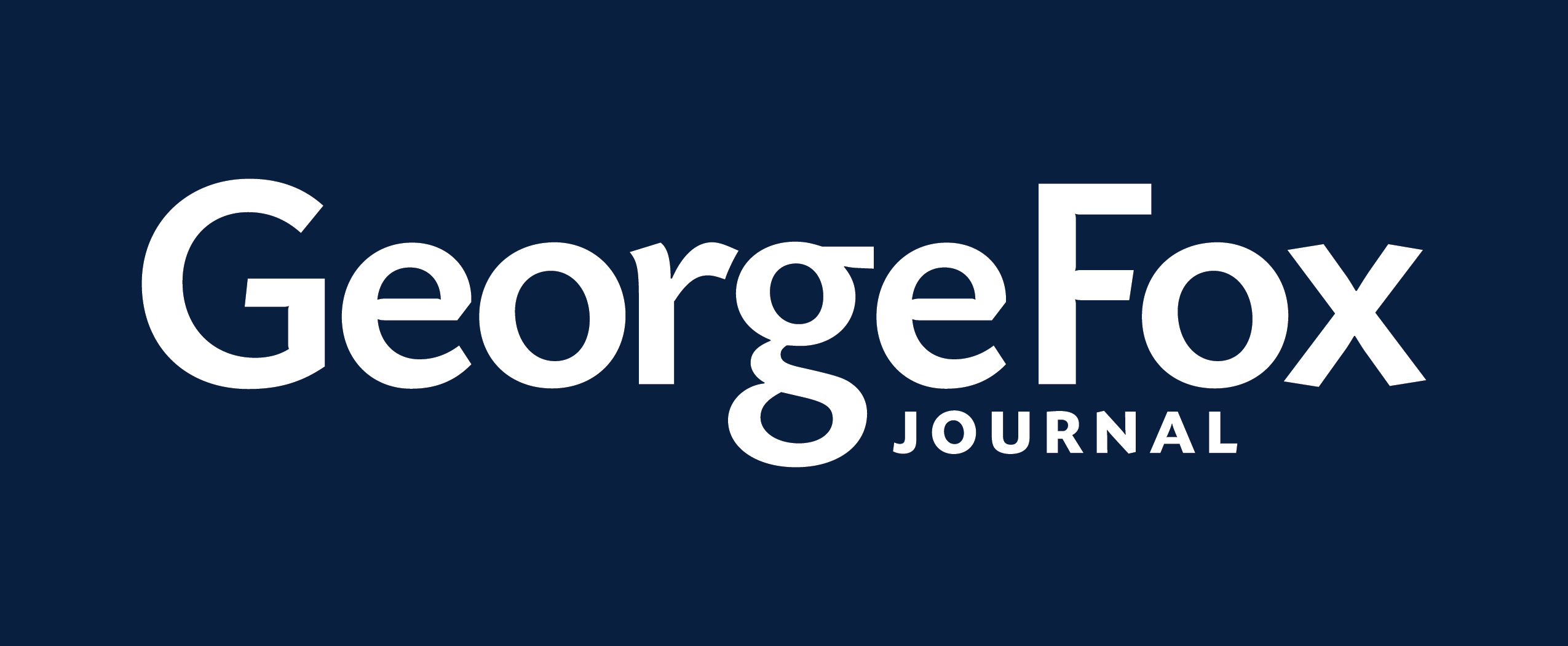 George Fox Journal