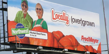 Local Farmers Featured in Billboard Campaign