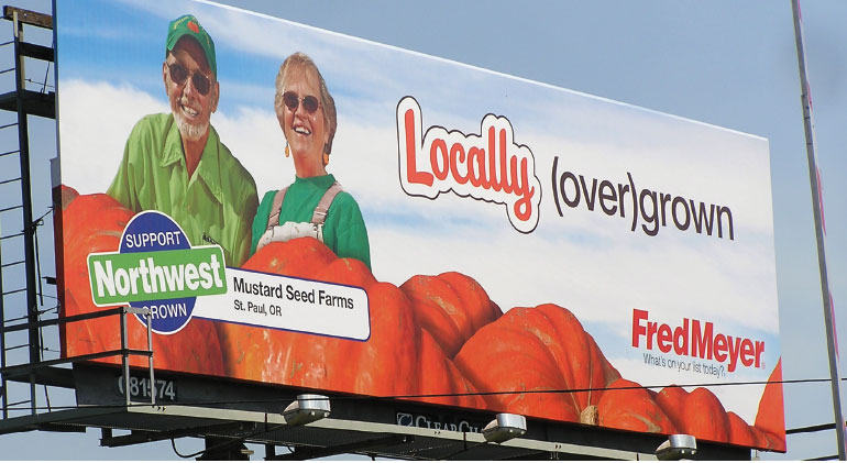Billboard featuring Dave and Nancy Brown