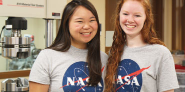 Love of Space Lands NASA Scholarships for Two Students