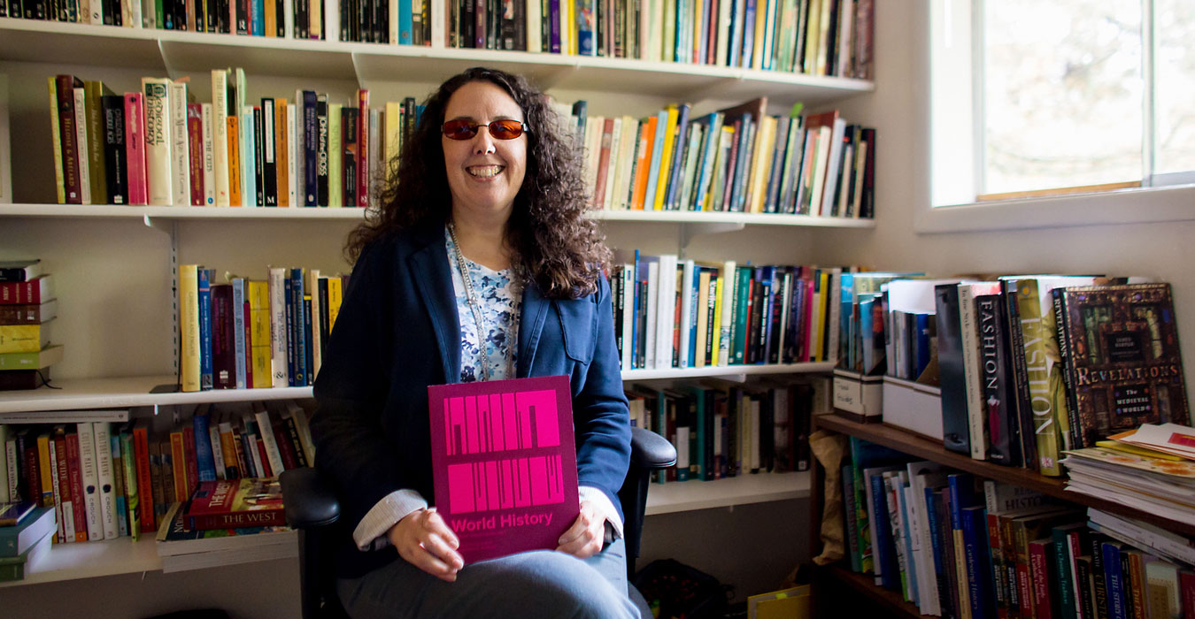 Professor Caitlin Corning's new book provides context  for key historical events in vivid detail