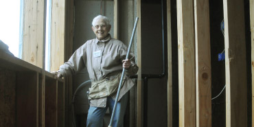 Nearing 90, Habitat Volunteer Still Going Strong