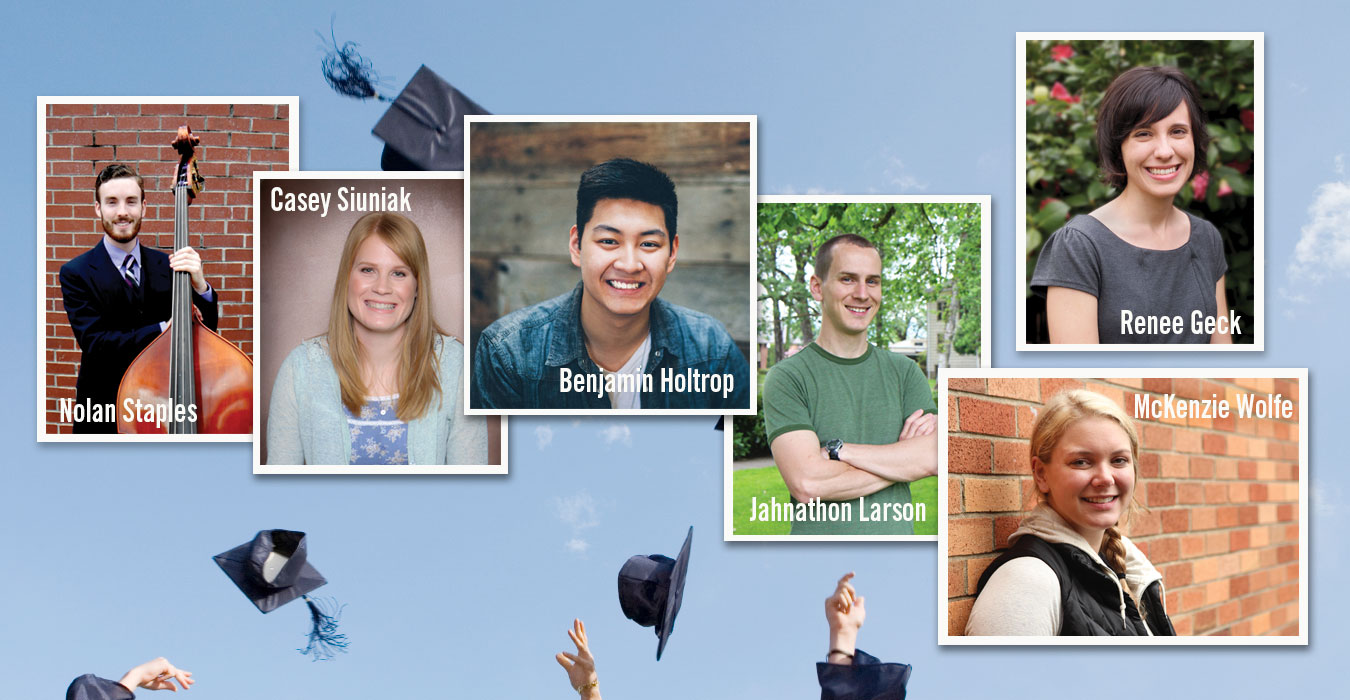 Recent grads share about their experience at George Fox, how they've grown and what's next.