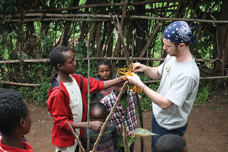 Servant engineering students travel to Ethiopia to help solve a village's water shortage problem