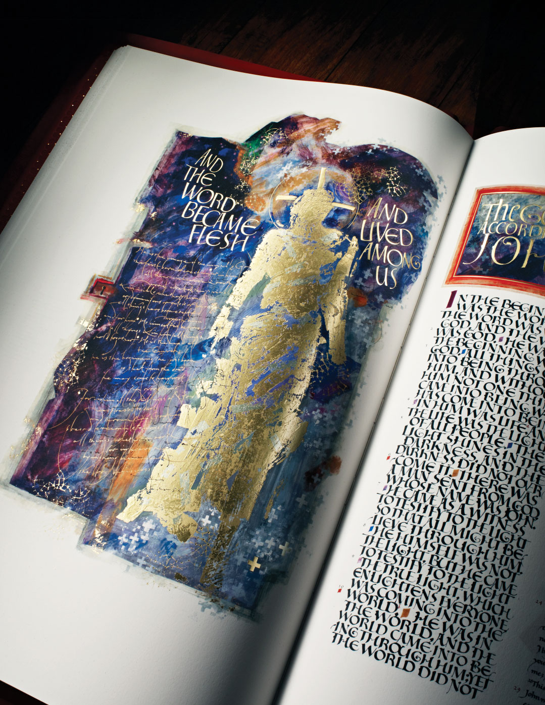 Gift Brings The Saint John S Bible To Campus For Second