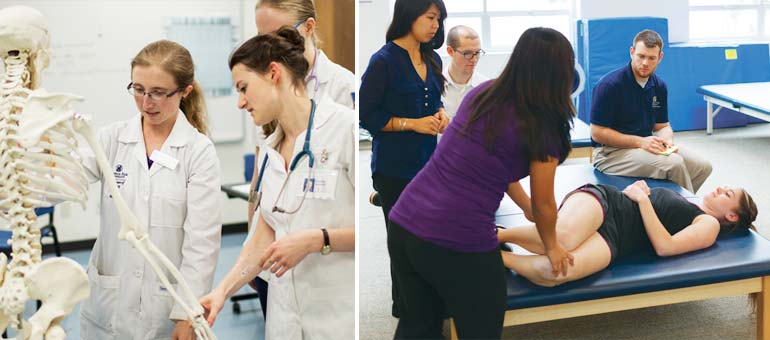 George Fox University Nursing program and Doctor of Physical Therapy program