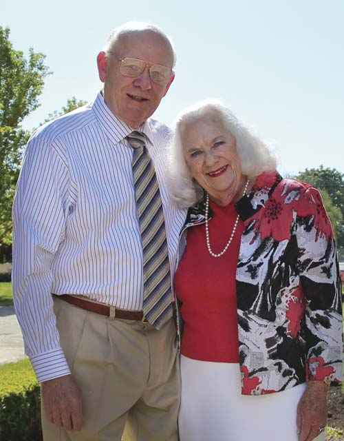 Ken and Joan Austin (meritorious service)