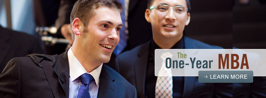 The One-Year MBA - Learn More